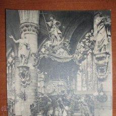 Postales: ANTIGUA FOTO POSTAL, GRAN FORMATO 17,5*13,5 CM. DE BRUXELLES. SIN CIRCULAR.. Lote 54809792