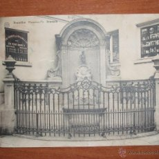 Postales: ANTIGUA FOTO POSTAL, GRAN FORMATO 17,5*13,5 CM. DE BRUXELLES. SIN CIRCULAR.. Lote 54809824