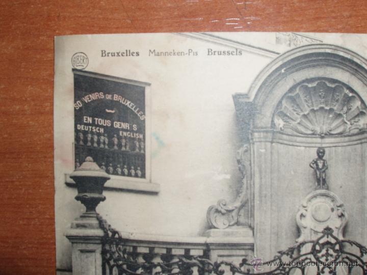 Postales: ANTIGUA FOTO POSTAL, GRAN FORMATO 17,5*13,5 CM. DE BRUXELLES. SIN CIRCULAR. - Foto 2 - 54809824