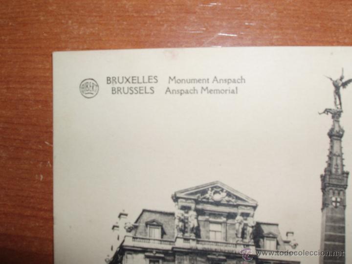 Postales: ANTIGUA FOTO POSTAL, GRAN FORMATO 17,5*13,5 CM. DE BRUXELLES. SIN CIRCULAR. - Foto 2 - 54809851