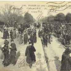 Postales: PS5031 PARÍS 'L'AVENUE DU BOIS DE BOULOGNE'. CIRCULADA EN 1913. Lote 45922547