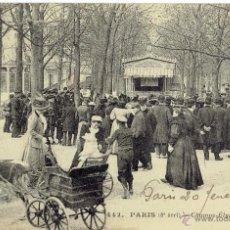 Postales: PS5032 PARÍS 'CHAMPS ÉLYSÉES - LES GUIGNOLS'. CIRCULADA EN 1914. Lote 45922682