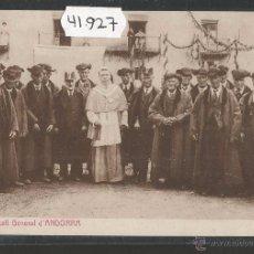 Postales: ANDORRA - 1 - CONSELL GENERAL D'ANDORRA - THOMAS - (41927). Lote 54883148