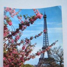 Postales: POSTAL PARIS - LA TOUR EIFFEL Nº 15 - GRAN FORMATO - ED. CHANTAL - CON DEDICATORIA.. Lote 54916797