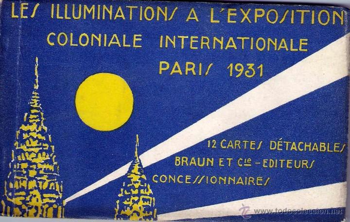 Postales: 12 CARTES L`EXPOSITION COLONIALE PARIS 1931 - Foto 1 - 55061637