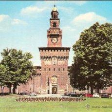Cartes Postales: MILÁN (ITALIA), CASTILLO SFORZESCO - EDIZ. LUIGI SCROCCHI - SIN CIRCULAR. Lote 55082249