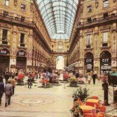 Cartes Postales: MILÁN (ITALIA), GALERÍA VITTORIO EMANUELE II - ED. LUIGI SCROCCHI - SIN CIRCULAR. Lote 55082292