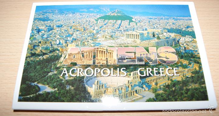 10 POSTALES DE ATENAS - ACROPOLIS. SIN USAR. (Postales - Postales Extranjero - Europa)