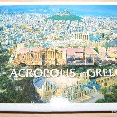Postales: 10 POSTALES DE ATENAS - ACROPOLIS. SIN USAR.. Lote 56164090
