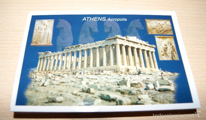 Postales: 10 Postales de Atenas - Acropolis. Sin usar. - Foto 2 - 56164090