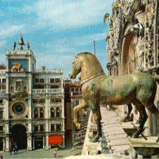 Cartes Postales: VENECIA (ITALIA), CABALLO Y TORRE DEL RELOJ - ED. G. GERLIN Nº 41 - SIN CIRCULAR. Lote 56272729