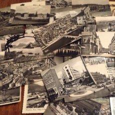 Postales: POSTALES AÑOS 50 DE CIUDADES EUROPEAS. Lote 56304221