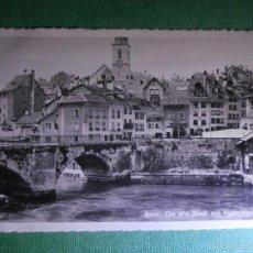 Postales: POSTAL - EUROPA - SUIZA - BERN - DIE ALTE STADT MIT NYDECKBRÜKE - LA VIEILLE VILLE - NUEVA -. Lote 56391324