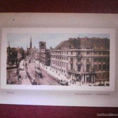 Postales: POSTAL - EUROPA - ALEMANIA - BERLIN - MÜHLENDAMM - SPARKASSE - ESCRITA EM 1912 -. Lote 56657459