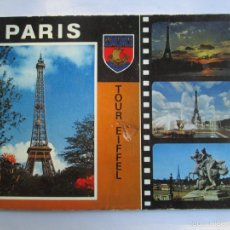 Postales: PARIS TOUR EIFFEL. Lote 56659528