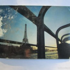 Postales: PARIS TOUR EIFFEL. Lote 56659533