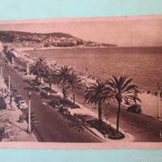 Postales: 1155 FRANCIA FRANCE ALPES MARITIMES NIZA NICE LA PROMENADE DES ANGLAIS 1952. Lote 56728484