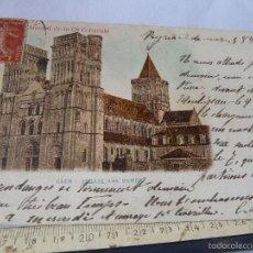 Postales: POSTAL ANTIGUA DE CAEN -ABBAYE AUX DAMES-CIRCULADA EN 1908. Lote 56731076