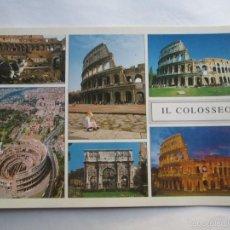 Postales: ROMA IL COLOSSEO, COLOSSEUM . Lote 56861511