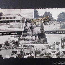 Postales: DONCASTER, INGLATERRA. SELLO. FRANQUEO INSUFICIENTE.. Lote 56926403