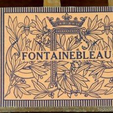 Postales: LP-251 - FONTAINEBLEAU. EDITION A. BOURDIER. PARÍS-FRANCIA. S/F.. Lote 56932195