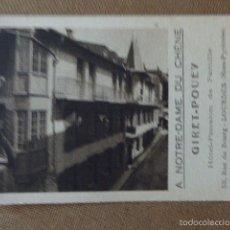 Postales: A NOTRE-DAME DU CHENE. GIRET-POUEY. HOTEL PENSION DE FAMILIE. LOURDES.. Lote 57005658
