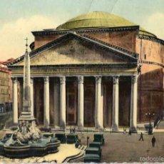 Postales: ROMA. IL PAUTHEON. CIRCULADA. 1952.. Lote 57327000