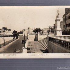 Postales: TARJETA POSTAL DE GIBRALTAR - WAR MEMORIAL AND PROMENADE. 19. L.ROISIN. Lote 57337465
