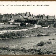 Postales: FRANCIA CARCASSONNE - LA CITE. Lote 57351970
