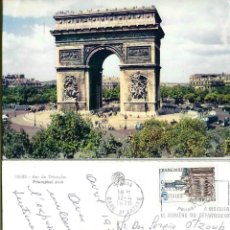 Postales: FRANCAISE 1970. CIRCULADA. GARE ST. LAZARE,. Lote 57385487
