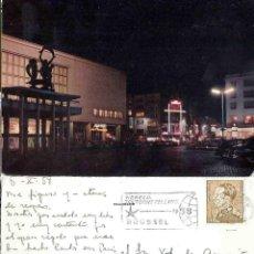 Postales: OOSTENTE KURSAAL ´S NACHIS.. BELGIQUE BELCIE. WERELD TENTOONSTELLING. 1958. BRUSSEL. . Lote 57386018