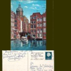 Postales: PUD. AMSTERDAM. KOLKJE. MATASELLOS POSTUWBRIEVEN ZODRA. Lote 57434162