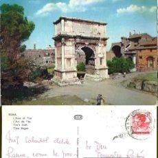 Postales: ROMA. ARCO DE TITO. CIRCULADA.. Lote 57461841