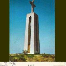 Postales: ALMADA. PORTUGAL. MONUMENTO SO CRISTO REI. 1976. Lote 57492288