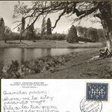 Postales: FÜRSTL. HOHENZOLLERNSCHER. WILDÀRK JOSEFSLUST BEL SIGMARINGEN. 1969. Lote 57492337
