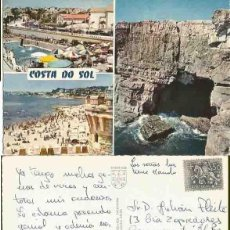 Postales: EDIÇAO IBEREX. LISBOA. COSTA DO SOL.ESCRITA. ESCRITA. NO CIRCULADA. Lote 57492378