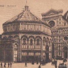 Postales: CIRCULADA A ESPAÑA EN 1924. FLORENCIA, BATISTERIO... Lote 57543699