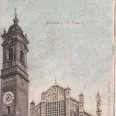 Postales: CIRCULADA A ESPAÑA. MONZA, LA CATEDRAL.. Lote 57543840