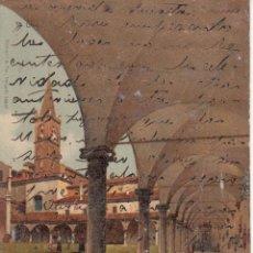 Postales: CIRCULADA A ESPAÑA EN 1902. BOLONIA, CLAUSTRO DE LA IGLESIA DE SANTO DOMINGO.. Lote 57543903