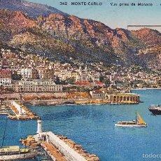 Postales: MONTE-CARLO VUE PRISE DE MONACO . Lote 57548144