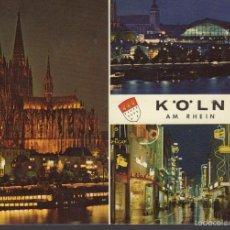 Postales: POSTAL DE ALEMANIA KÖLN AM RHEIN. Lote 57589385