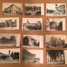 Postales: ITALIA - MILANO - MILAN - 28 CARTOLINAS - TARJETAS POSTALES. Lote 57614042