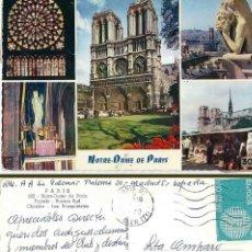 Postales: PARIS NOTRE DAME 1970. Lote 57627928