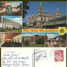 Postales: BAD WILDUNGEN.1981. Lote 57627974