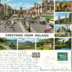 Postales: IRELAND. GREETINGS FROM IRELAND 1969. Lote 57628026