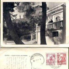 Postales: OPATIJA, GRAND HOTEL BELVEDERE. JUGOSLAVIJA, 1953. Lote 57628109