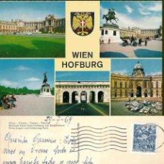 Postales: VIENNA. EHEMALS KAISERLICHE HOFBURG MIT DENKMÄLERN 1969. Lote 57628118
