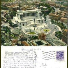Postales: ROMA. MONUMENTIO A VITTORIO EMANUELE II 1969. Lote 57628129
