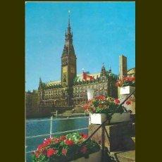 Postales: HAMBURG. RATHAUS. Lote 57628160