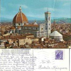 Postales: FIRENZE. LA CATTEDRALE. CUPOIA DEL BRUNELIESCHI. 1969. Lote 57628173